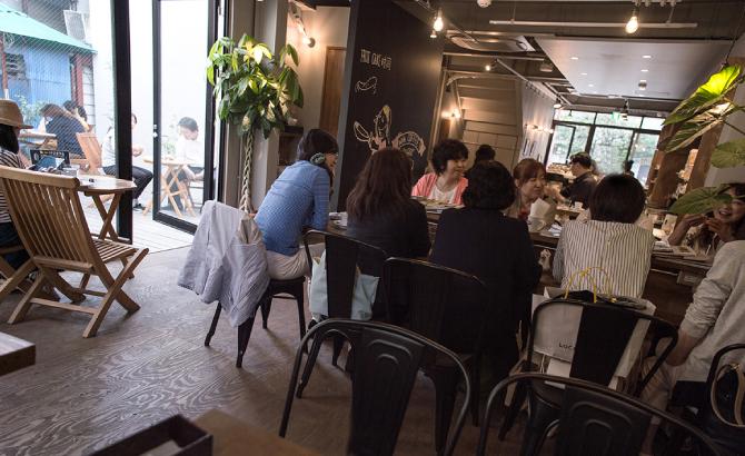 チルルコーヒーカフェ写真